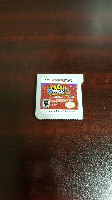 The Trash Pack: The Gross Gang in your Carbage (Nintendo 3DS,2012)