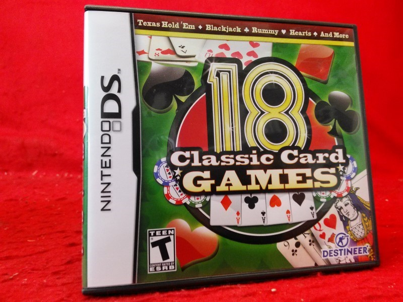 Destineer 18 Classic Card Games, 2010 [ Nintendo DS]