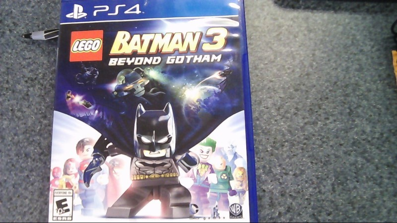 Sony PlayStation 4 Game LEGO BATMAN 3 BEYOND GOTHAM