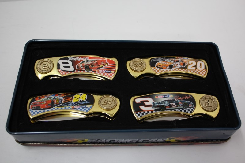 Racing Pocket Knife Collection