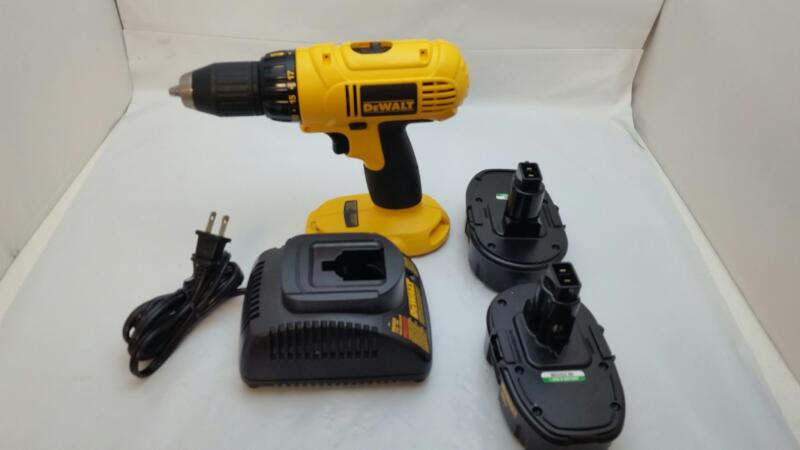 "DEWALT DC970 18V Compact 1/2"" CORDLESS DRILL Complete Kit"