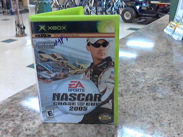MICROSOFT Microsoft XBOX 360 Game NASCAR 2005: CHASE FOR THE CUP (XBOX 2004)