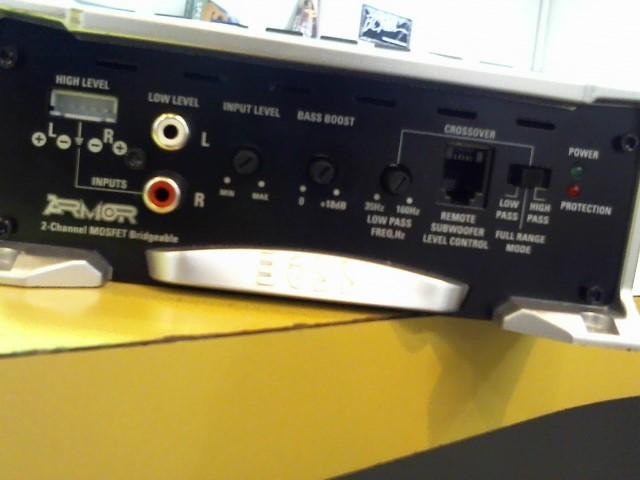 BOSS Car Amplifier ARMOR AR3000.2