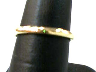 Lady's Gold Wedding Band 14K Yellow Gold 1dwt Size:6