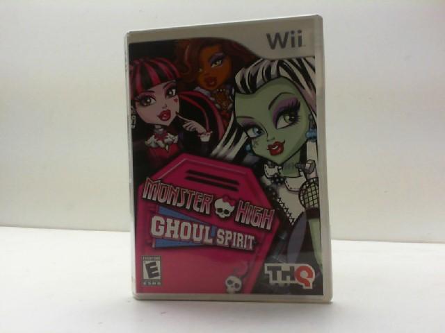 NINTENDO Nintendo Wii Game MONSTER HIGH GHOUL SPIRIT