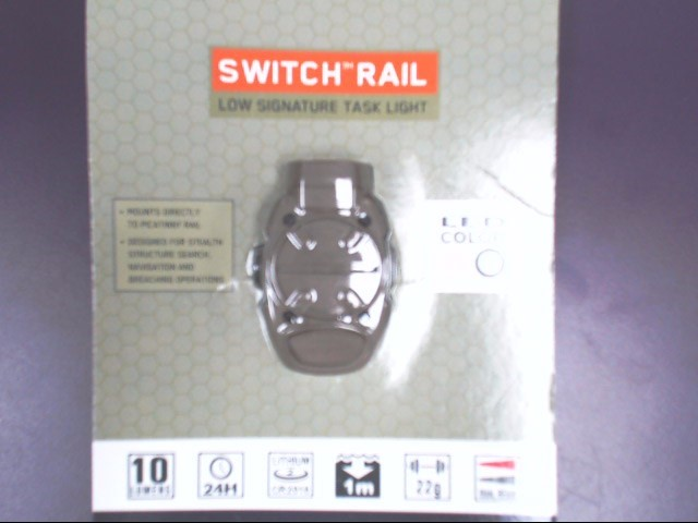 Princeton Tec SR-3 Tan Switch Rail Light *Cool*