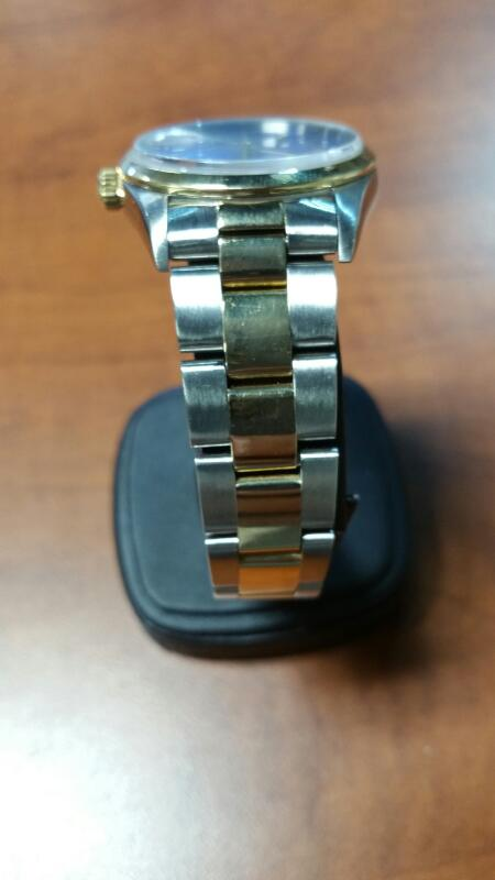ROLEX Gent's Wristwatch 15203 STEEL&GOLD OYSTER PERPETUAL DATE