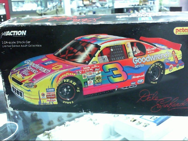 ERIN CROCKER AND PETER MAX ACTION CARS