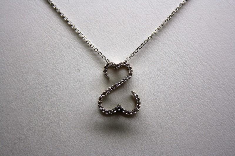 OPEN DIAMOND HEART BY JANE SEYMOUR