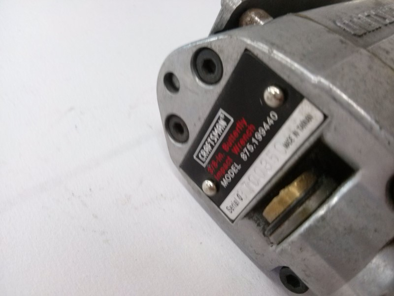 Craftsman 3/8in Butterfly Impact Wrench