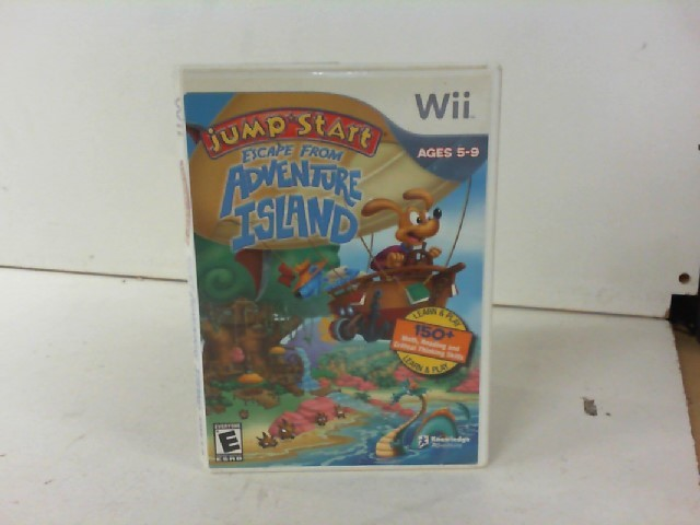 NINTENDO Nintendo Wii Game JUMP START ECAPE FROM ADVENTURE ISLAND