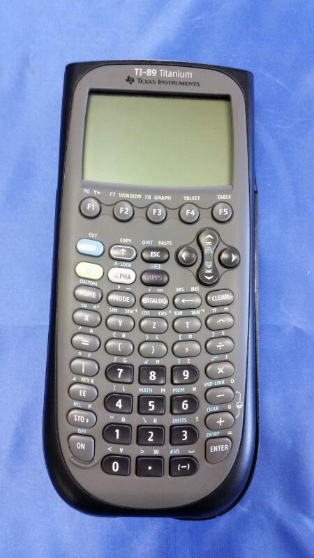 TEXAS INSTRUMENTS Calculator TI-89 TITANIUM
