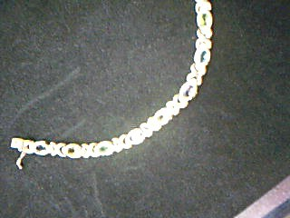 Yellow Stone Gold-Stone Bracelet 14K Yellow Gold 14.3g