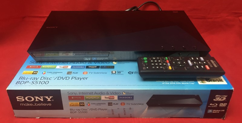 SONY DVD Player BDP-S5100