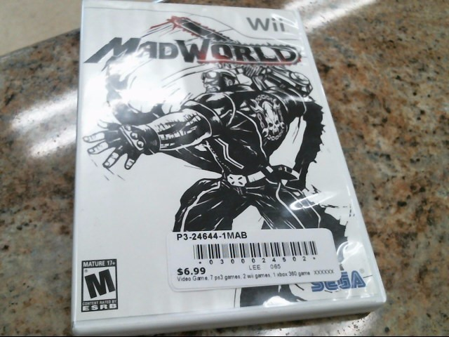 NINTENDO Nintendo Wii Game MADWORLD