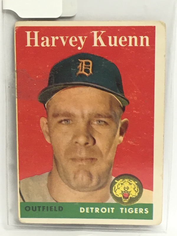 T.C.G. PRTD HARVEY KUENN OUTFIELD DETROIT TIGERS 434