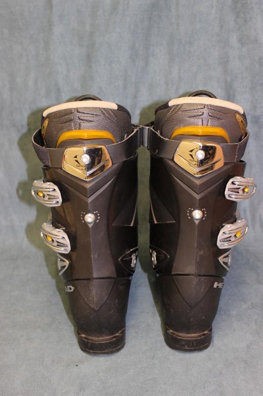 Head Edge 9.7 Ski Boots Black/Gray Mondo 27.0