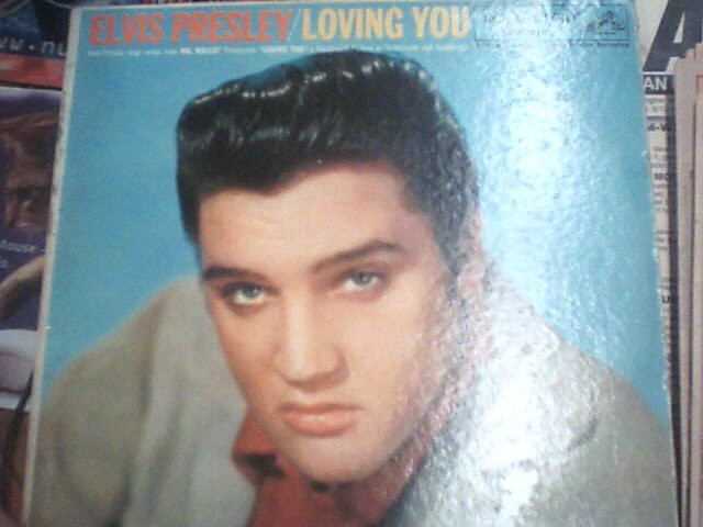 RCA Entertainment Memorabilia ELIS PRESLEY/LOVING YOU ALBUM
