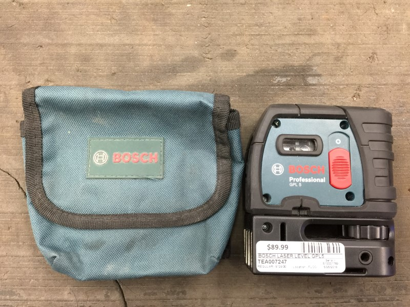 BOSCH Laser Level GPL5