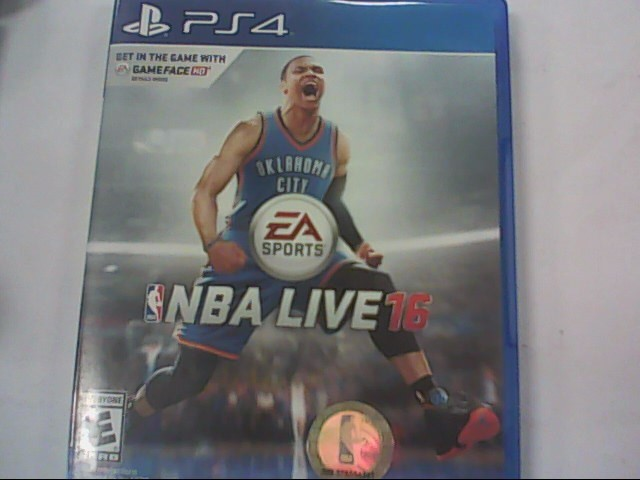 SONY Sony PlayStation 4 Game NBA LIVE 16 - PS4