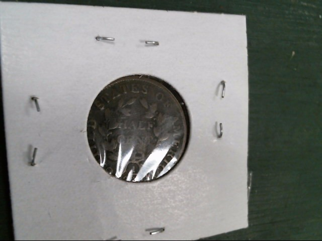 UNITED STATES Coin CLASSIC HEAD HALF CENT (1808 - 1836)