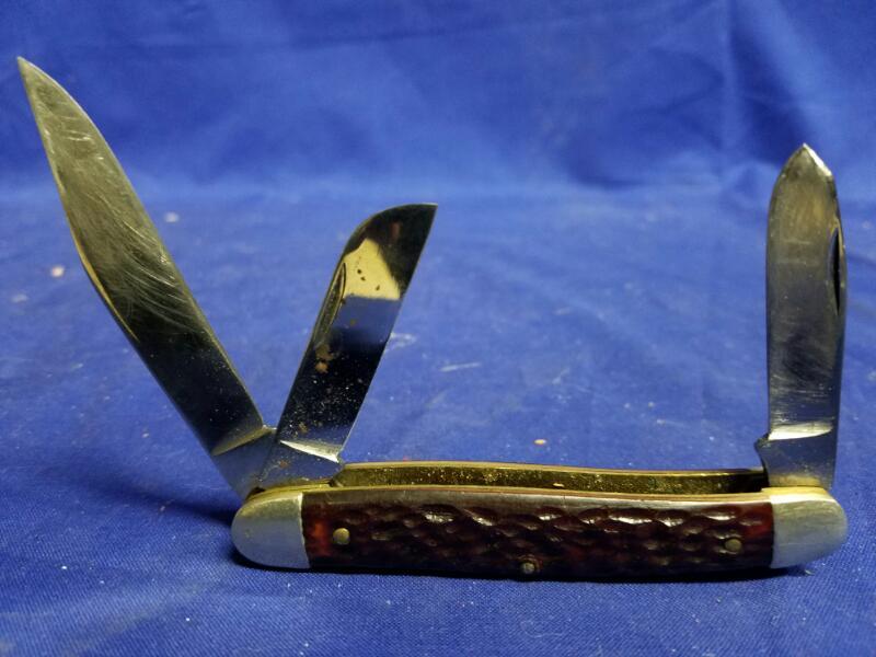 KUTMASTER 3-BLADE POCKET KNIFE