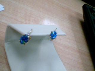 Gold Earrings 14K Rose Gold 0.8g