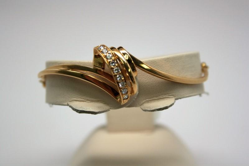 FASHION DIAMOND BRACELET 18K YELLOW GOLD