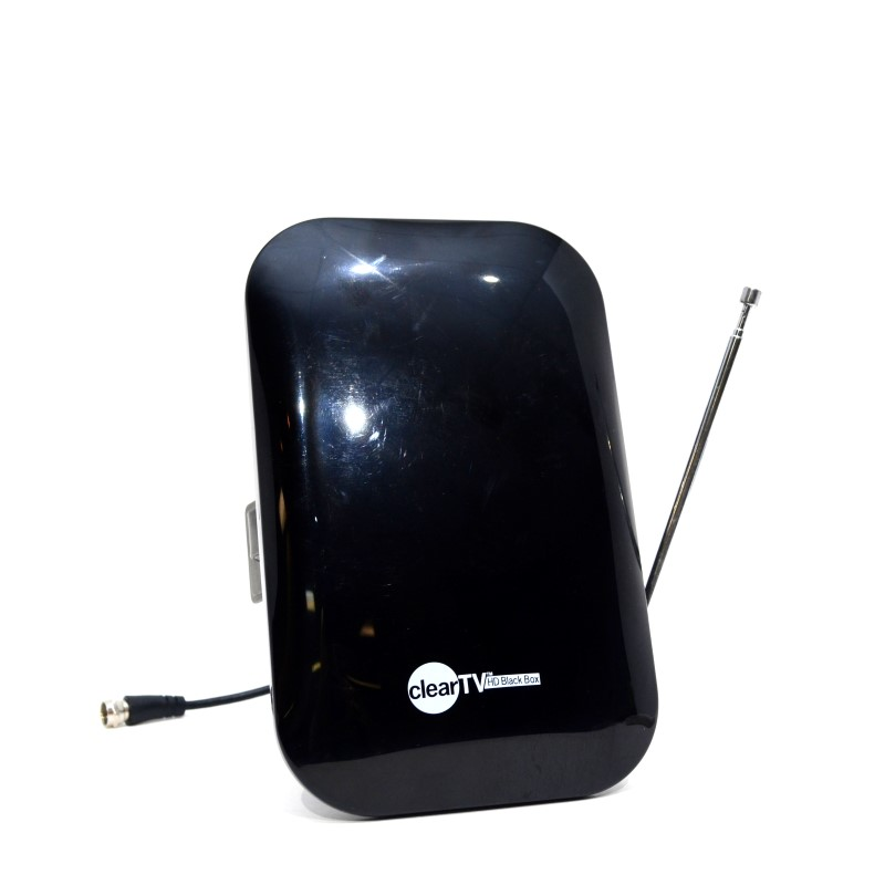 Clear X-74 HD Black Box Digital Indoor TV Antenna *As Seen on TV*