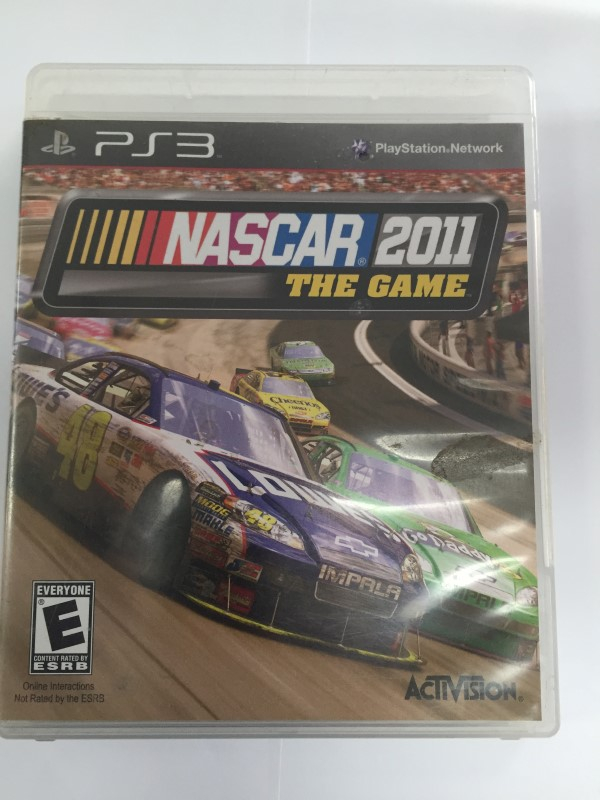 SONY PLAYSTATION 3 NASCAR 2011 THE GAME PS3