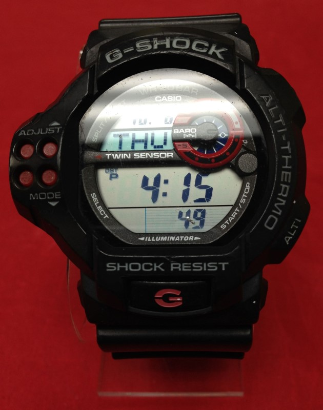 CASIO Gent's Wristwatch G-SHOCK GDF-100