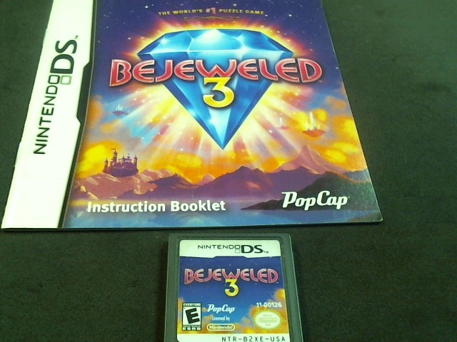 NINTENDO DS Game BEJEWELED 3 (I05012390)