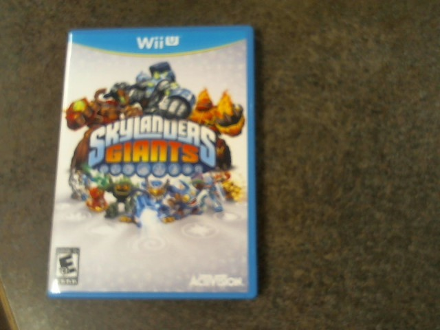 NINTENDO Wii U Game SKYLANDERS GIANTS WII GAME