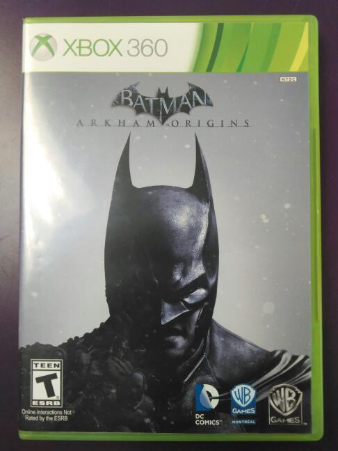 Batman: Arkham Origins (Microsoft Xbox 360, 2013)