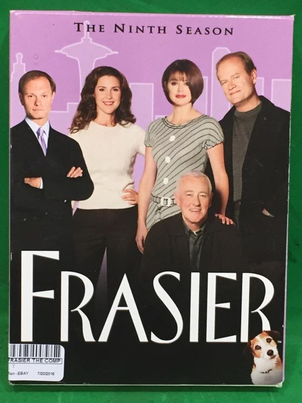 Frasier - The Complete Ninth Season (DVD, 2007, 4-Disc Set)