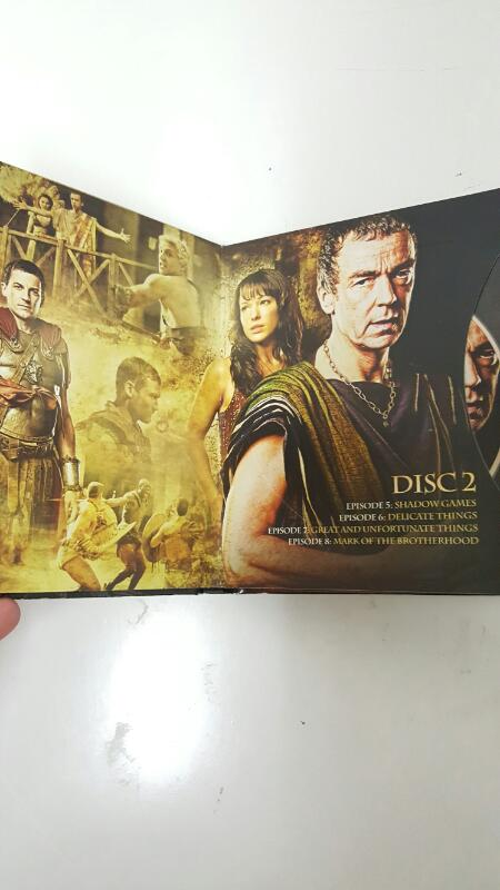 DVD BOX SET DVD SPARTACUS BLOOD AND SAND