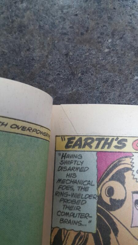 DC COMICS Comic Book GREEN LANTERN