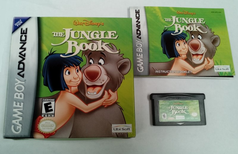 Nintendo Gameboy Advance GBA Disney's The Jungle Book *COMPLETE*