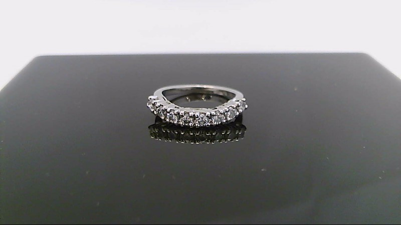 Lady's Platinum-Diamond Anniversary Ring 8 Diamonds .48 Carat T.W. 950 Platinum