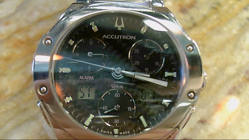 Bulova Accutron Breckenridge Chronograph C852385 Watch