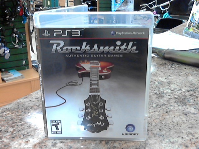 SONY Sony PlayStation 3 Game PS3 ROCKSMITH GAME