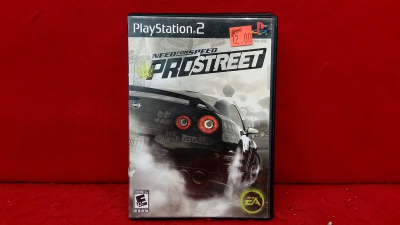 Need for Speed: ProStreet (Sony PlayStation 2, 2007)