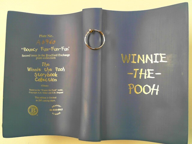 "BRADFORD EXCHANGE WINNIE THE POO ""BOUNCY FUN-FUN-FUN"""