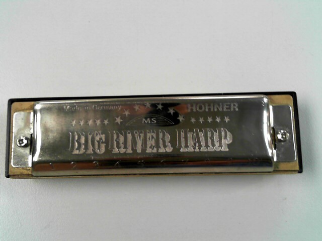 HOHNER BIG RIVER HARP HARMONICA