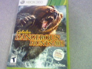 MICROSOFT Microsoft XBOX 360 Game CABELA'S DANGEROUS HUNTS 2013