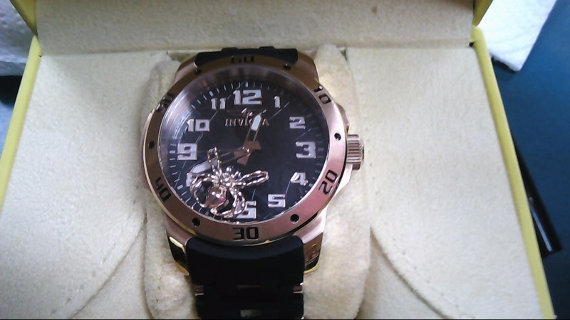 INVICTA Gent's Wristwatch SEA SPIDER TRINITE ROSE GOLD with box