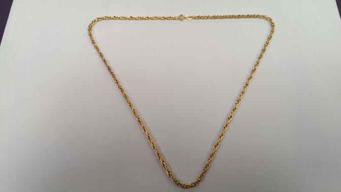 "18"" Gold Chain 18K Yellow Gold 10.5g"