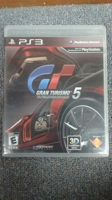 SONY PLAYSTATION 3 (PS3) GAME GRAN TURSIMO 5