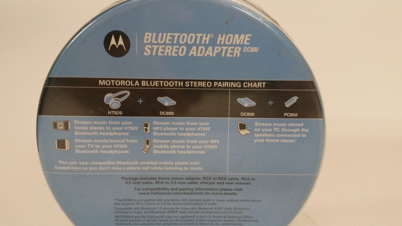 MOTOROLA Headphones DC800