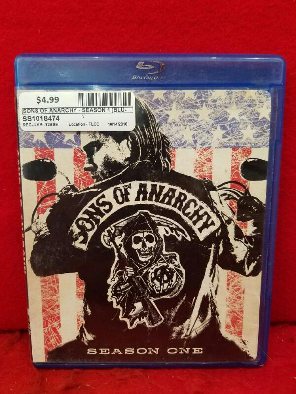 Sons of Anarchy - Season 1 (Blu-ray Disc, 2009, 3-Disc Set)